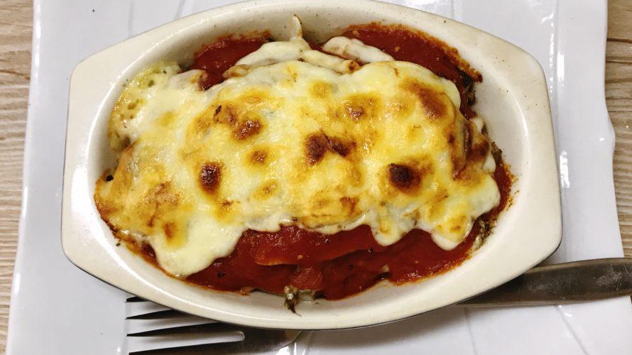 缶詰め料理 オイルサーディンのトマトチーズ焼き