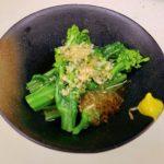 野菜料理レシピ 春野菜の代表格 【菜の花のお浸し】の作り方