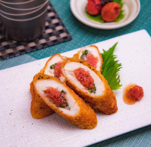 肉料理レシピ 鶏料理 【鶏ささみの梅しそ揚げ】の作り方