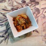 『スタミナ 簡単レシピ』 鶏なんこつのキムチ炒め