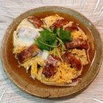 土用丑の日  夏バテ予防に うなぎの卵とじ