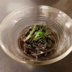 加賀野菜 金時草(きんじそう)の酢の物