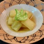 〖加賀太きゅうりの青煮(ひすい煮)〗の作り方 夏野菜料理レシピ 伝統加賀野菜