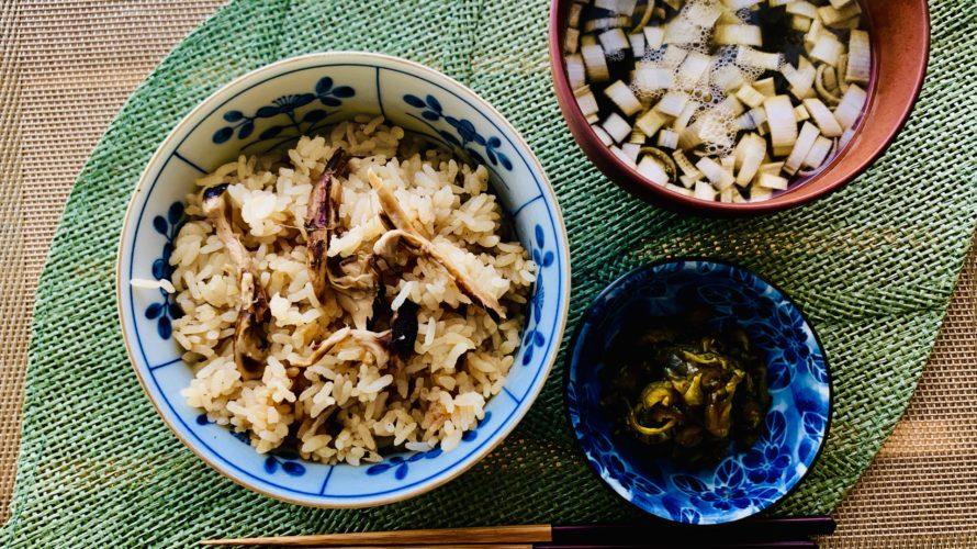贅沢 松茸たっぷり 松茸の炊き込みご飯