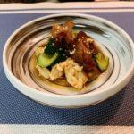 鶏ササミと生キクラゲの中華和え