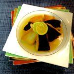 【カレイのソテー 土佐酢ジュレで】の作り方 魚料理レシピ キラキラ綺麗なソース
