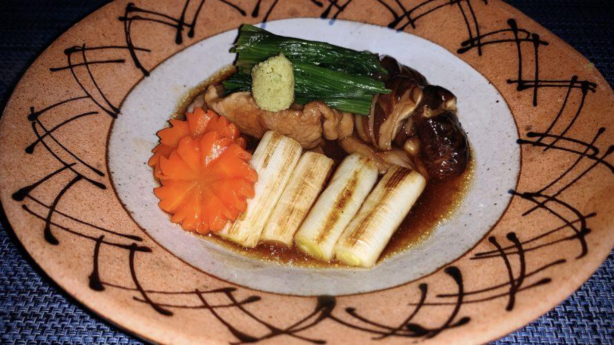 金沢の美味しい郷土料理 鴨の治部煮のレシピ