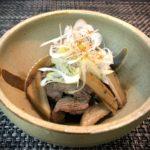 圧力鍋で簡単 牛肉と牛蒡の柔らか煮