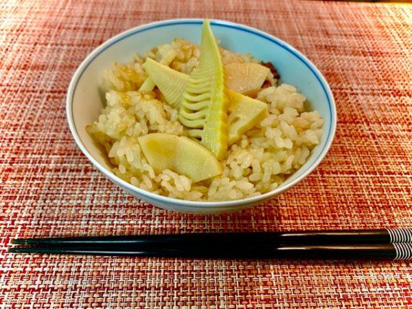 米料理 春が旬の野菜で炊き込みご飯 【竹の子ご飯】の作り方