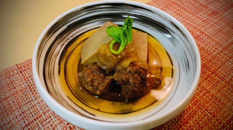 肉団子と高野豆腐の肉豆腐
