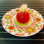 冷やし 出汁トマト