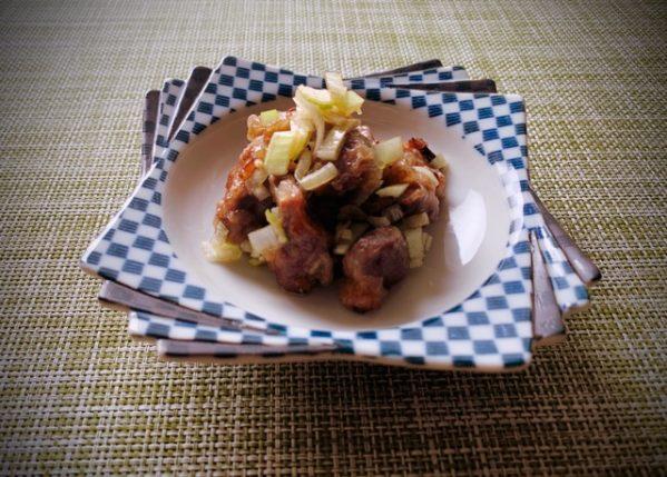 〖砂肝のポン酢醤油漬け〗の作り方  鶏料理レシピ 食感がたまらない