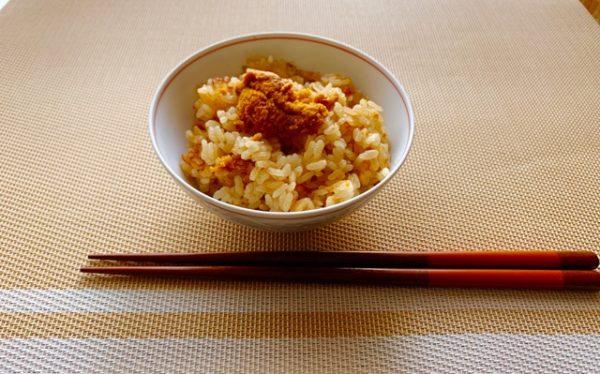 〖ウニの炊き込みご飯〗の作り方 お米料理レシピ 炊き込みご飯