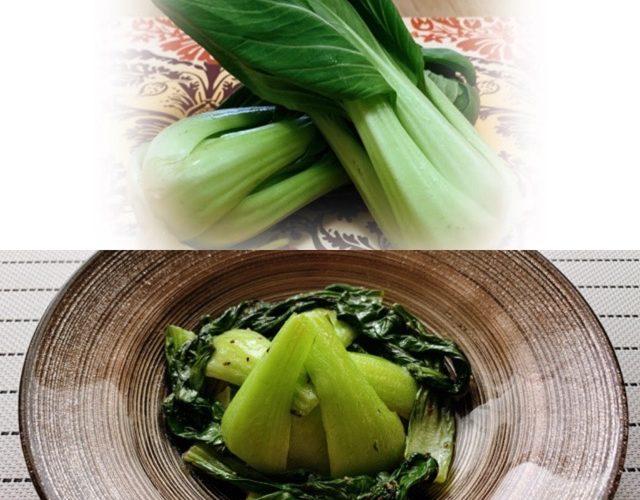 野菜料理レシピ  【チンゲン菜の塩だれ炒め】の作り方