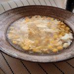 夏の味覚とうもろこし たっぷりコーンの中華スープのレシピ