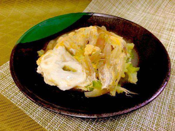 【ゴーヤとみょうがの卵とじ】の作り方 夏野菜レシピ 沖縄野菜