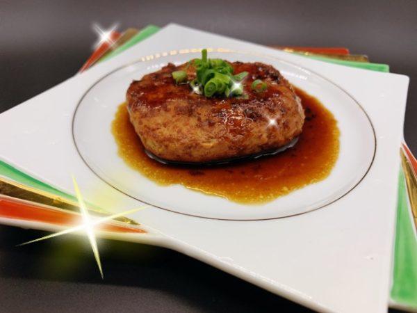 絶品 豚ひき肉100%で作るハンバーグ
