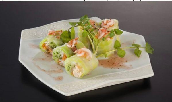 春満載 春野菜の生春巻きのレシピ