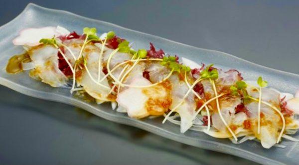 鯛と新玉ねぎを使って春のカルパッチョ 真鯛のカルパッチョのレシピ