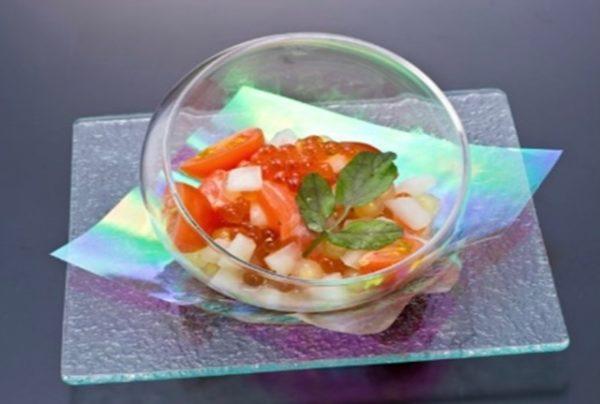 〖サーモンとイクラ、タピオカのマリネ〗の作り方 魚料理レシピ サーモン料理