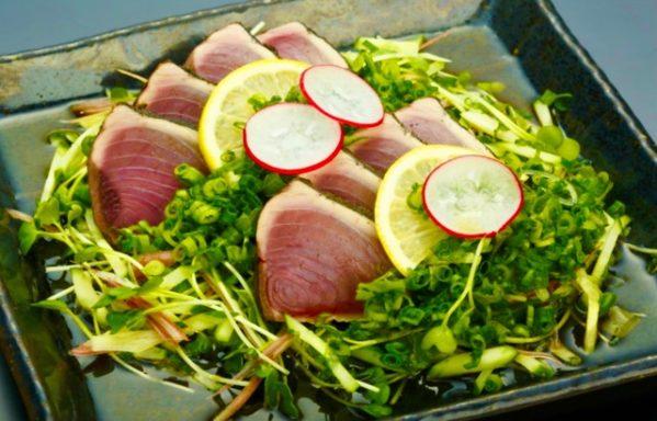 魚料理 カツオを使った料理 土佐名物【のっけ盛り】の作り方