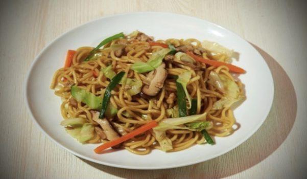 〖上海焼きそば〗の作り方 麺料理レシピ おすすめ焼きそば