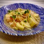 『竹の子と海老のにんにく塩炒め』の作り方 野菜料理レシピ 春が旬の竹の子
