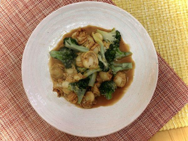 〖ベビー帆立とブロッコリーの中華炒め〗の作り方 魚介料理レシピ 簡単中華料理