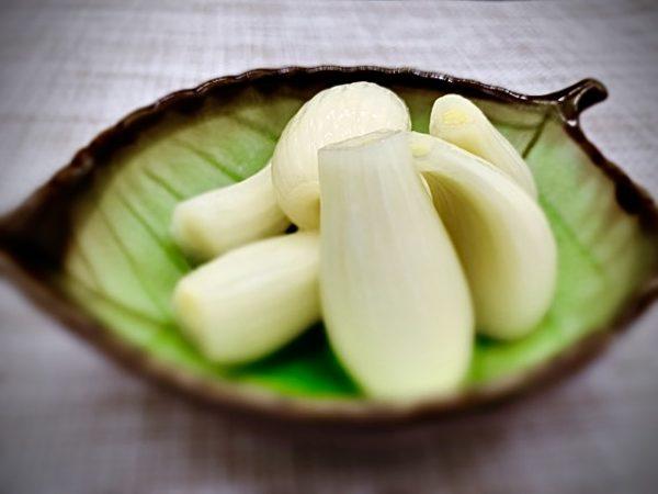 〖らっきょうの塩漬け〗の作り方 春野菜レシピ カレーライスのお供に最高❕