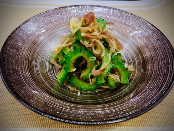〖ゴーヤとミョウガのさっぱり和え〗の作り方 夏野菜レシピ 簡単、お手軽料理