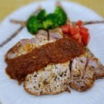〖豚ロースステーキのケチャップソース〗の作り方 豚肉料理レシピ BBQにもおすすめ