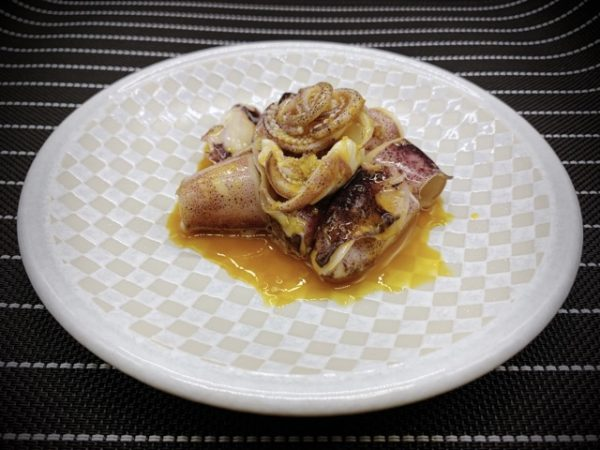 〖イカの黄身醤油和え〗の作り方 魚介料理レシピ イカでおつまみ作り