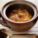 〖トマトとしめじの卵スープ〗の作り方 野菜料理レシピ 野菜スープで健康に💪