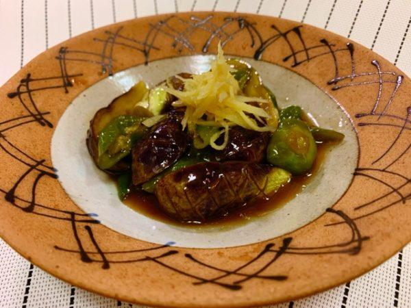 〖茄子と万願寺唐辛子の旨煮〗の作り方 夏野菜レシピ 美味しい煮物