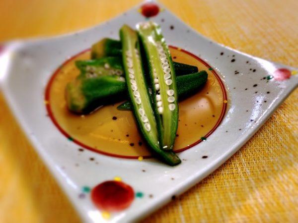 〖オクラのお浸し〗の作り方 夏野菜料理レシピ ご飯の副菜に