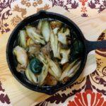 簡単美味しい貝料理〖サザエとみょうがのアヒージョ〗の作り方