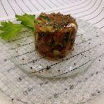 〖鯵の和風タルタルステーキ〗の作り方 旬の魚でちょっとお洒落に